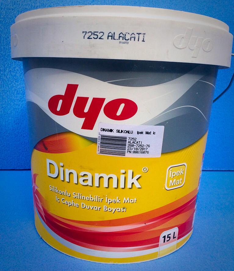 Dyo Boya Renkleri ve Dyo Boya Fiyatları