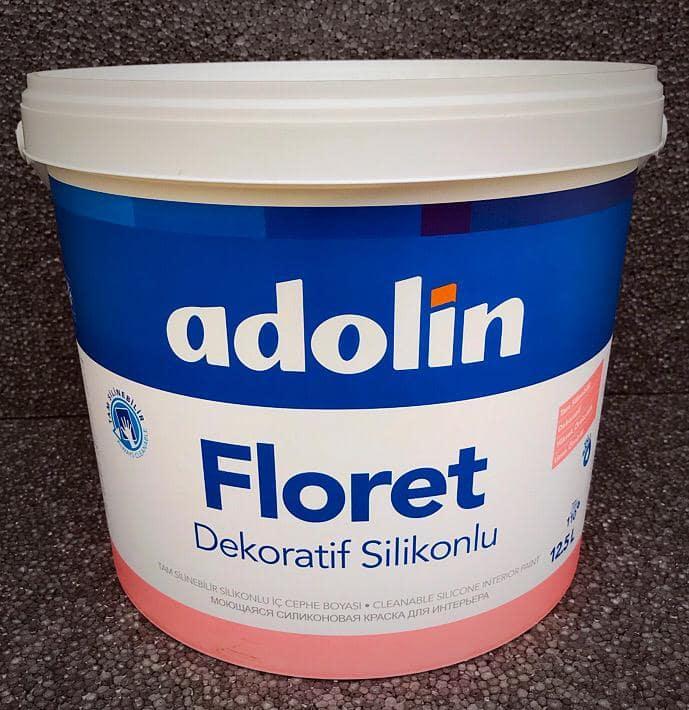 Adolin Floret silikonlu silinebilir duvar boyası